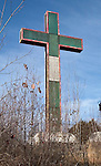 WATERBURY, CT. 08 January 2008-010408SV05-- The Holy Land Cross will be dismantled and rebuilt with new lighting.<br /> Steven Valenti Republican-American
