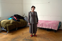 Internally Displaced Person (IDP) from South Ossetia living in Tbilisi...
