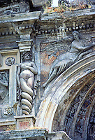 Tivoli: Villa D'Este. Detail of Organ Fountain (Fontana Dell Organo). Photo '83.