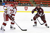 Matt McCollem (Harvard - 23), Nick Prockow (Colgate - 21) - The Harvard University Crimson defeated the visiting Colgate University Raiders 6-2 (2 EN) on Friday, January 28, 2011, at Bright Hockey Center in Cambridge, Massachusetts.