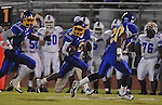 Oxford High's Stan Ivy (6) returns a kickoff vs. Senatobia in high school football in Oxford, Miss. on Friday, September 9, 2011. Oxford won 40-20. The return was called back due to penalty.