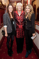 """NO REPRO FEE. 17/1/2010. The Field opening night. Lis Bennett Pat Moylan and Ellen Bennett are pictured at the Olympia Theatre for the opening night of John B Keanes 'The Field"""" Picture James Horan/Collins"""