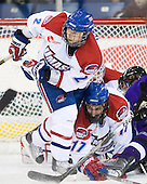 Chris Ickert (Lowell - 2), Matt Ferreira (Lowell - 17) - The visiting Minnesota State University-Mankato Mavericks defeated the University of Massachusetts-Lowell River Hawks 3-2 on Saturday, November 27, 2010, at Tsongas Arena in Lowell, Massachusetts.