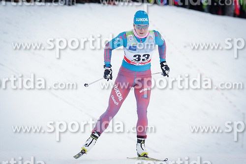 Natalia Nepryaeva (RUS) during Ladies 1.2 km Free Sprint Qualification race at FIS Cross<br /> Country World Cup Planica 2016, on January 16, 2016 at Planica,Slovenia. Photo by Ziga Zupan / Sportida