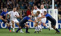 Rugby World Cup Auckland  England v France  Quarter Final 2 - 08/10/2011. JOHNNY WILKINSON (England)    .Photo Frey Fotosports International/AMN Images
