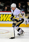 3 February 2009: Pittsburgh Penguins' left wing forward Matt Cooke warms up prior to a game against the Montreal Canadiens at the Bell Centre in Montreal, Quebec, Canada. The Canadiens defeated the Penguins 4-2. ***** Editorial Sales Only ***** Mandatory Photo Credit: Ed Wolfstein Photo