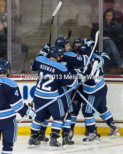 - The visiting University of Maine Black Bears defeated the Boston College Eagles 3-1 for a weekend sweep on Saturday, January 26, 2013, at Kelley Rink in Conte Forum in Chestnut Hill, Massachusetts.