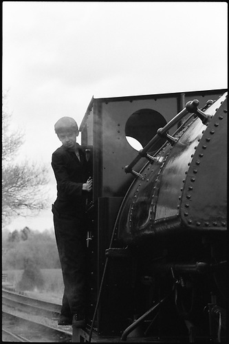 Locomotive Driver, Mid-Suffolk Light Railway by Paul Cooklin