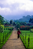 Bali, Tabanan, Bratan. There is a nice garden at Ulun Danu, a very peaceful and tranquil place.