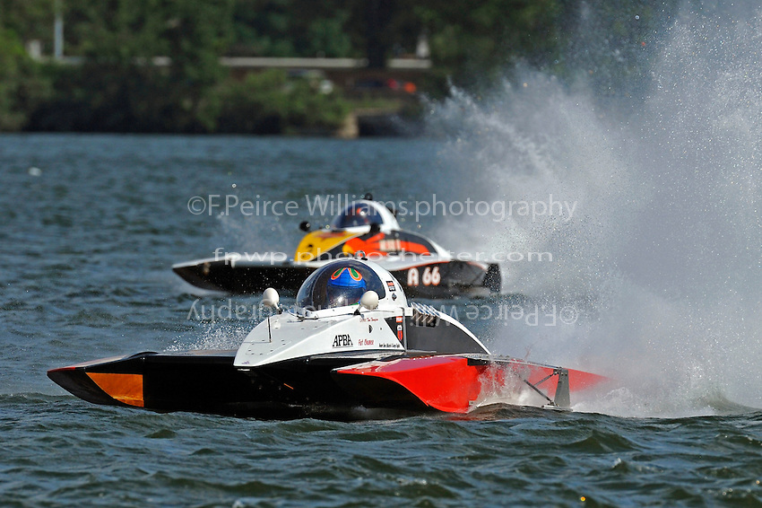 "Tom Thompson, A-52 ""Fat Chance Too"" and Buster Graham, A-66 ""Mr. Bud III"" (2.5 MOD class hydroplane(s)"