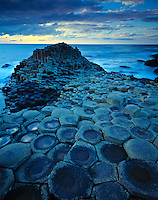 The Giants Causeway        Giants Casueway National Trust Preserve, Northen Ireland United Kingdom     Columnar basalt formations