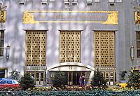 New York: Waldorf-Astoria Hotel Park, 49th-50th. Schultze & Weaver, 1931.