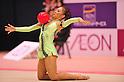 Mai Hidaka (JPN), ..OCTOBER 28, 2011 - Rhythmic Gymnastics : AEON CUP 2011 Worldwide R.G. Club Championships at Tokyo Metropolitan Gymnasium, Tokyo, Japan. (Photo by Jun Tsukida/AFLO SPORT) [0003]
