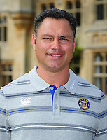Head Coach Tabai Matson poses for a portrait at a Bath Rugby photocall. Bath Rugby Media Day on August 24, 2016 at Farleigh House in Bath, England. Photo by: Patrick Khachfe / Onside Images