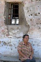 Isola di Pianosa.Pianosa Island.Francesca Paladino, (79 anni) moglie di un agente di custodia, ritorna a Pianosa dopo 53 anni. Francesca Paladino, (79 years) wife of a guard, she returned to Pianosa after 53 years.