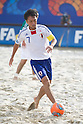 Takeshi Kawaharazuka (JPN), SEPTEMBER 02, 2011 - Beach Soccer : FIFA Beach Soccer World Cup Ravenna-Italy 2011 Group D match between Japan 2-3 Mexico at Stadio del Mare, Marina di Ravenna, Italy, (Photo by Enrico Calderoni/AFLO SPORT) [0391]