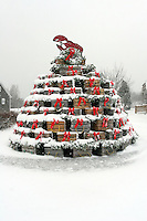 Lobster Trap Christmas Tree  #S39