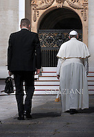 General audience Pope Francis in St. Peter's Square at the Vatican. June 18, 2014