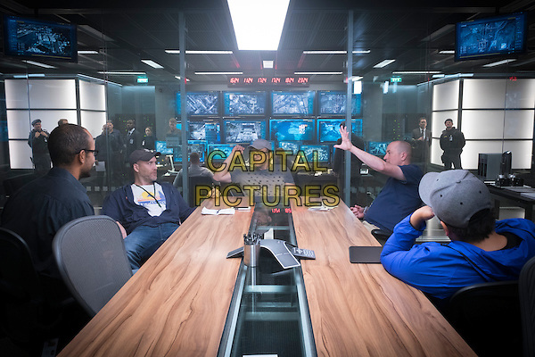 Captain America: Civil War (2016) <br /> Executive Producer Nate Moore, Screenwriter Stephen McFeely, Director Anthony Russo, Screenwriter Christopher Markus and Director Anthony Russo <br /> *Filmstill - Editorial Use Only*<br /> CAP/KFS<br /> Image supplied by Capital Pictures