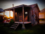 September 26, 2013 - Shack in Clarksdale, Mississippi.