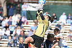 24 November 2007: Notre Dame's Lauren Karas. The University of Notre Dame Fighting Irish defeated University of North Carolina Tar Heels 3-2 at Fetzer Field in Chapel Hill, North Carolina in a Third Round NCAA Division I Womens Soccer Tournament game.