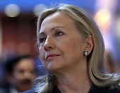 United States Secretary of State Hillary Rodham Clinton attends the National Prayer Breakfast in Washington, DC, February 2, 2012. .Credit: Chris Kleponis / Pool via CNP