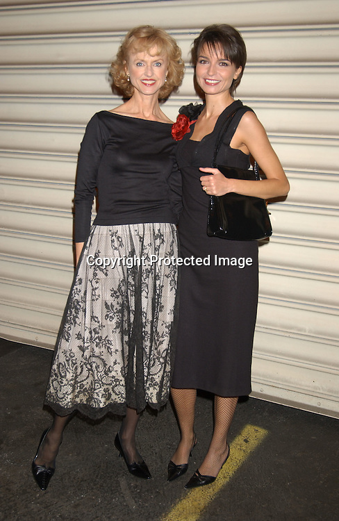 ..Jill Larson and Olga Sosnovska..at the ABC Casino Night on October 23, 2003 at the ..Lighthouse at Chelsea Piers. Photo by Robin Platzer, ..Twin Images