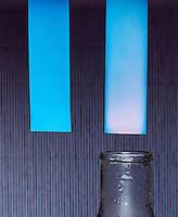 COBALT CHLORIDE: EFFECT OF MOISTURE<br /> Filter Paper Soaked In CoCl2 Appears Blue In Color.When in the presence of moisture the color turns to pink (CoCl2*6H2O).