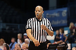 20 November 2016: Referee Daryl Humphrey. The University of North Carolina Tar Heels hosted the Bucknell University Bisons at Carmichael Arena in Chapel Hill, North Carolina in a 2016-17 NCAA Women's Basketball game. UNC won the game 65-50.
