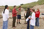 J. & Teachers Talking To Holden, Rosita, Naomi, Dennis & Trillium