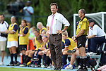25 September 2011: UNC head coach Anson Dorrance. The University of Virginia Cavaliers defeated the University of North Carolina Tar Heels 1-0 in overtime at Fetzer Field in Chapel Hill, North Carolina in an NCAA Division I Women's Soccer game.