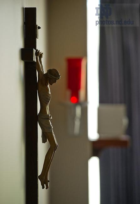 Mar. 28, 2012; Flanner Chapel..Photo by Matt Cashore/University of Notre Dame