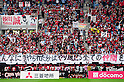 Consadole Sapporo fans,.JUNE 16, 2012 - Football / Soccer :.Consadole Sapporo players acknowledge fans after the 2012 J.League Division 1 match between Vegalta Sendai 4-1 Consadole Sapporo at Yurtec Stadium Sendai in Miyagi, Japan. (Photo by AFLO)