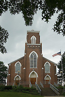 St. Joseph's Church in Somerset, Ohio. The church is the oldest Catholic church in Ohio.<br />