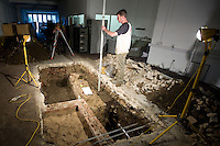 #1 Archaeological dig at No 7 &amp; The Studio, Brewer Street