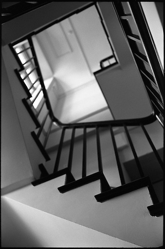 Geometry, Staircase, Blickling Estate by Paul Cooklin