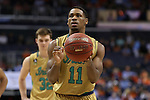 11 March 2016: Notre Dame's Demetrius Jackson. The University of North Carolina Tar Heels played the University of Notre Dame Fighting Irish at the Verizon Center in Washington, DC in the Atlantic Coast Conference Men's Basketball Tournament semifinal and a 2015-16 NCAA Division I Men's Basketball game. UNC won the game 78-47.
