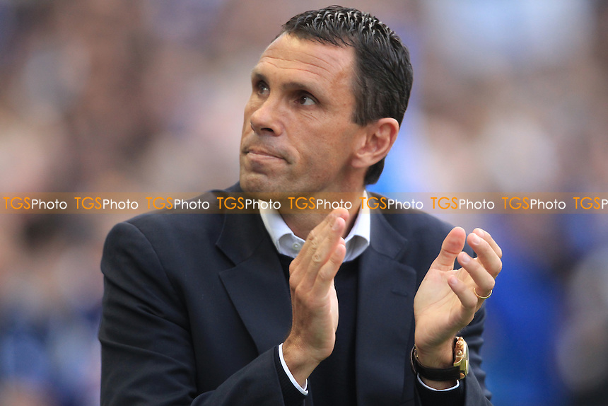 Brighton & Hove Albion Manager Gus Poyet - Brighton & Hove Albion vs Crystal Palace - NPower Championship Play-Off Semi-Final 1st Leg at the Amex Stadium - 13/05/13 - MANDATORY CREDIT: Simon Roe/TGSPHOTO - Self billing applies where appropriate - 0845 094 6026 - contact@tgsphoto.co.uk - NO UNPAID USE