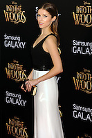 NEW YORK CITY, NY, USA - DECEMBER 08: Anna Kendrick arrives at the World Premiere Of Walt Disney Pictures' 'Into The Woods' held at the Ziegfeld Theatre on December 8, 2014 in New York City, New York, United States. (Photo by Celebrity Monitor)