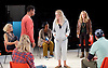 People, Places and Things <br /> by Duncan Macmillan <br /> directed by Jeremy Herrin <br /> at the Dorfman Theatre, NT, Southbank, London, Great Britain <br /> press photocall <br /> 28th August 2015 <br /> <br /> Barbara Marten <br /> Nari Blair - Mangat<br /> Jacqui Dubois <br /> Denise Gough <br /> Sally George <br /> Laura Woodward<br /> Alistair Cope <br /> <br /> <br /> Photograph by Elliott Franks <br /> Image licensed to Elliott Franks Photography Services