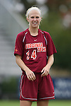 25 October 2009: Virginia Tech's Kelsey Mitchell. The Duke University Blue Devils defeated the Virginia Tech Hokies 4-1 at Koskinen Stadium in Durham, North Carolina in an NCAA Division I Women's college soccer game.