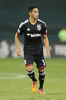 Washington D.C. - August 17, 2014:  D.C. United defeated the Colorado Rapids 4-2 during a Major League Soccer match for the 2014 season at RFK Stadium.
