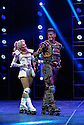 Bill Kenwright presents one of the best loved and longest running musicals in theatrical history, as Andrew Lloyd Webbers Starlight Express, directed and choreographed by Arlene Phillips, puts on its skates and explodes back onto the New Wimbledon Theatre stage with a new production for 2012. L to R: Amanda Coutts (Pearl), Kristofer Harding (Rusty).