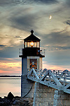 "The Marshall Point Lighthouse in Port Clyde, Maine, was featured in a scene in the movie ""Forrest Gump."""