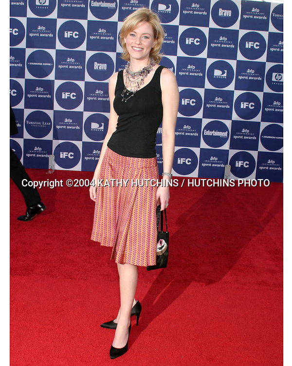 ©2004 KATHY HUTCHINS /HUTCHINS PHOTO.2004 IFP INDEPENDENT SPIRIT AWARDS.SANTA MONICA, CA.FEBRUARY 28, 2004..ELIZABETH BANKS