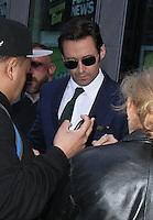 Hugh Jackman Seen In NYC