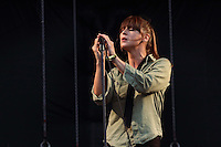 Cat Power performs at the inaugural All Points West Music and Arts Festival at Liberty State Park on Sunday, Aug. 10, 2008 in Jersey City, New Jersey. (Tina Gao/pressphotointl.com)