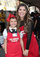 Los Angeles, CA - NOVEMBER 23: Estela Ines Monteverde, Ali Landry, At Los Angeles Mission Thanksgiving Meal For The Homeless At Los Angeles Mission, California on November 23, 2016. Credit: Faye Sadou/MediaPunch