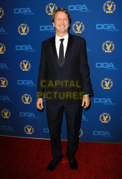 Tom Hooper.65th Annual Directors Guild Of America Awards - Arrivals - Press Room Held At The Ray Dolby Ballroom at Hollywood & Highland Center, Hollywood, California, USA..February 2nd, 2013.full length black suit white shirt .CAP/ADM/KB.©Kevan Brooks/AdMedia/Capital Pictures.
