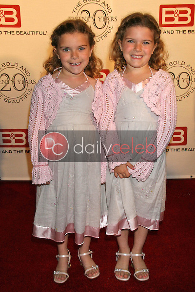 Amanda Pace and Rachel Pace<br />at the celebration for &quot;The Bold and The Beautiful&quot; 20 years on air. Rodeo Drive, Beverly Hills, CA. 03-24-07<br />Dave Edwards/DailyCeleb.com 818-249-4998